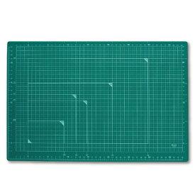 プラス(PLUS)カッターマット カッティングマット A3 グリーン CS-A3 48584