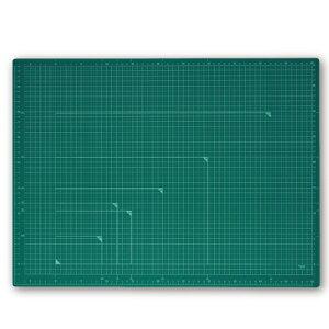 プラス(PLUS)カッターマット カッティングマット A2 グリーン CS-A2 48586