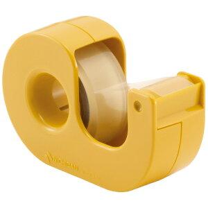 セロテープ小巻カッター付 CT-15DCY 黄