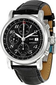 Montblanc モンブラン スタークラシック スティールコレクション GMT メンズ 腕時計 自動巻き オートマティック 102135