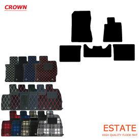 トヨタ クラウン BEYOND 220系 フロアマット CROWN プレイドシリーズ