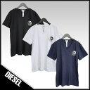 ディーゼル DIESEL Tシャツ 3枚セット Vネック ブレイブマンロゴ SHGU-0TANL UMTEE-MICHAEL-02 【2019SS新作】【新作セール】