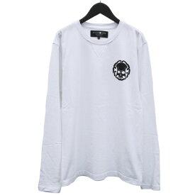 ハイドロゲン HYDROGEN ロンT Tシャツ 長袖 ジャパニーズ スカ 274624-001_WHITE