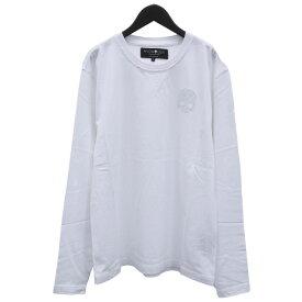 ハイドロゲン HYDROGEN ロンT Tシャツ 長袖 スタッズ スカル 274645-001_WHITE