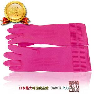 【韓国雑貨】ゴム手袋 M、L、XL(サイズ3種類)【3個までメール便発送可能
