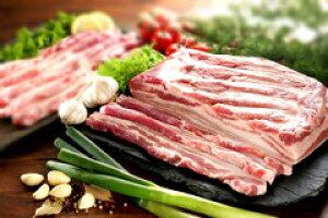 冷凍食品★冷凍豚バラブロック1kg /量り売り商品 /豚肉/韓国食品/美味しい焼肉/冷凍肉/うまい焼肉