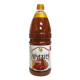 ☆ ヤンニョム チキンソース(甘口) 2.1kg ☆鶏肉たれ/鳥/ソース/ダレ/タレ][韓国調味料][韓国料理][韓国食材][韓国食品]