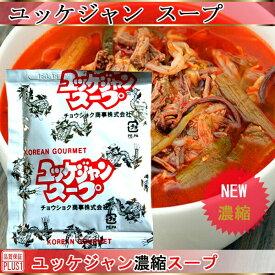 ★ネコポス便26個まで可能★【CS】 濃縮 ユッケジャン スープ(1食分 45g)