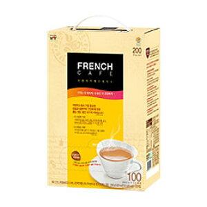 【NAMYANG】フレンチカフェ コーヒー100本(スティック)倉庫処分 大特値! ★無脂肪の牛乳が入って美味しい★