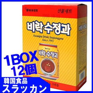【Paldo/ビラク】スジョンガ/シナモンジュ−ス1BOX(238mlX12本)