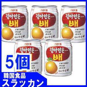 【ヘテ】おろし梨ジュース238ml 5個】★