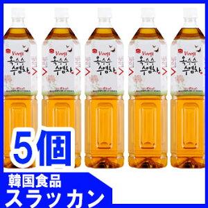 【〈ガンドン〉とうもろこしのひげ茶1.5L 5個】