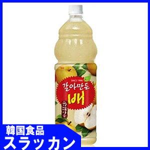 【ヘテ】おろし梨ジュースPET(1.5L)