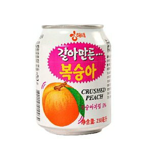 【ヘテ】すりおろし【桃】ジュース 238ml缶】1BOX(238mlX12本)