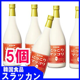 「セール中」イドン【二東】【マッコリ−360ml瓶(5本)】★韓国伝統酒