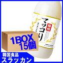 【楊州】マッコリ−梨味1Lx15個 1BOX