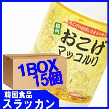 【楊州】【マッコリ−お焦げ味1L (15個) 1BOX】