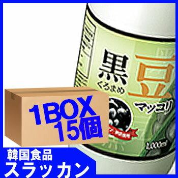【楊州】【マッコリ−黒豆味1L (15個) 1BOX】韓国フュージョン酒ダイエットに効果がある韓国黒豆を使った