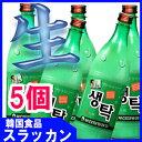 ※冷蔵商品 【釜山センタック生マッコリ 750ml 5個 】★
