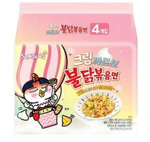 三養 クリーム カルボ ブルダック炒め麺 140gx5個 /韓国食品 韓国ラーメン ブルダックシリーズ