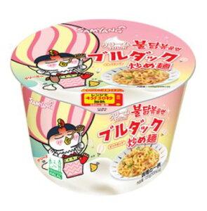 三養 クリーム カルボ ブルダック炒め カップ麺 大 120gx1個 /韓国食品 韓国ラーメン ブルダックシリーズ