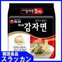 「少量入荷」韓国語版-【農心】ジャガイモ麺117g×5個