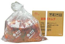 「大雨の影響で少量入荷★-順番通り発送させて頂きます。」【韓国食品 キムチ 冷蔵】宗家(ジョンガ) 業務用白菜キムチ10kg【入荷毎週木曜日-順番で発送/在庫切れの場合来週発送になる可能性有】