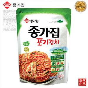 韓国 宗家(ジョンガ) 白菜キムチ500g