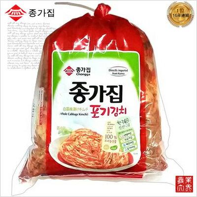 【セール中】【韓国食品 キムチ 冷蔵】宗家(ジョンガ) 白菜キムチ 10kg ※毎週木曜日新しいキムチ入荷/発送※