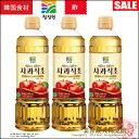 【韓国飲料|飲む酢】清静園 アルカリ性 リンゴ酢900ml