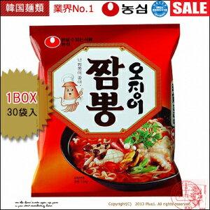 ■韓国ラーメン■ 農心 イカ チャンポン40袋 BOX