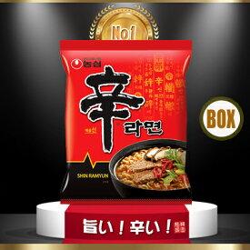 【韓国麺】 安さ、品質 日本一♪ 辛ラーメン(40袋)