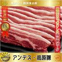 【焼肉素材|豚肉類|冷凍】■アンデス・高原豚■ 豚バラ スライス・三段バラ(サムギョプサル)1Kg