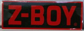【Z-BOY/ゼットボーイ】【ステッカー】【縦5cm×横14cm】