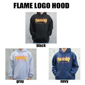 【送料無料!即納】Thrasher Flame Logo Hoodyスラッシャー フレームロゴ フード パーカー 人気トップの定番ロゴー US規格 本物【あす楽対応_関東】ポイント10倍