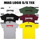 【送料無料!即納】Thrasher Mag Logo S/S Tee スラッシャー マグロゴ 半袖ティーシャツ U.S.規格 本物【あす楽対応_関東】クリックポ…