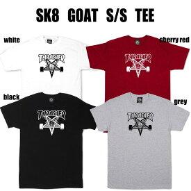 【送料無料!即納】Thrasher Ska8 Goat S/S Tee スラッシャー スケート ゴート 半袖ティーシャツ U.S.規格 本物【あす楽対応_関東】【クリックポスト(ポスト投函)発送の為代引き不可】ポイント10倍