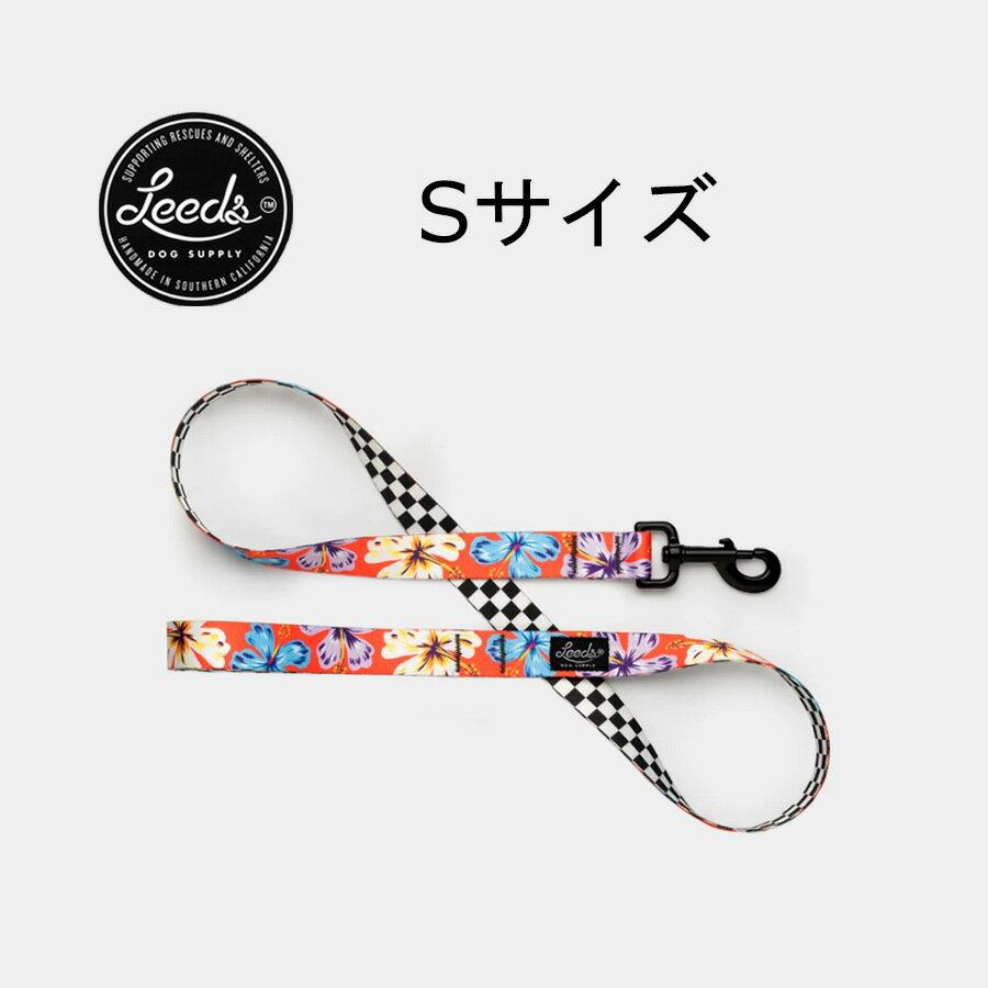 犬用リード Sサイズ【送料無料!即納】リーズドッグサプライ アロハLeeds Dog Supply Lead ALOHA MR.HAND Small【ゆうパケット発送】