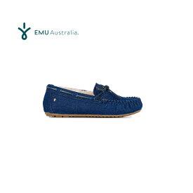 楽天スーパーSALE対象品 エミュー オーストラリア アミティ デニム シープスキンシューズ EMUオリジナルBOX入り【全国送料無料!即納】EMU Australia Sheepskin Shoes Amity Denim【あす楽対応_関東】
