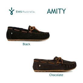 楽天スーパーSALE対象品 エミュー オーストラリア シープスキン モカシン アミティ EMUオリジナルBOX入り EMU Australia Sheepskin Shoes Amity【あす楽対応_関東】
