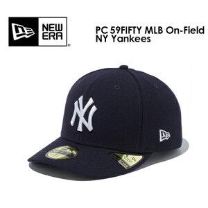 あす楽 送料無料 NEW ERA ニューエラ CAP 帽子 ニューヨーク・ヤンキース●PC 59FIFTY MLB On-Field NY Yankees オンフィールドキャップ 12712360