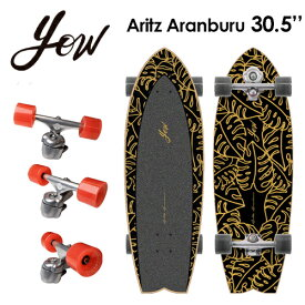 YOW SURFSKATE ヤウ サーフスケート スケボー コンプリート 2021●ARITZ ARANBURU 30.5'' アリツ・アランブル