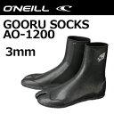 O'neill,オニール,サーフィン,防寒対策,ブーツ,ソックス●GOORU SOCKS グールソックス AO-1200