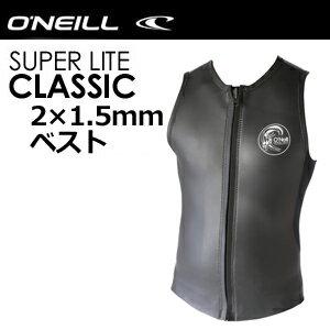 【送料無料】O'neill,オニール,ウェットスーツ,タッパー,メンズ,18ss●SUPER LITE CLASSIC スーパーライトクラシック ベスト WF-1570