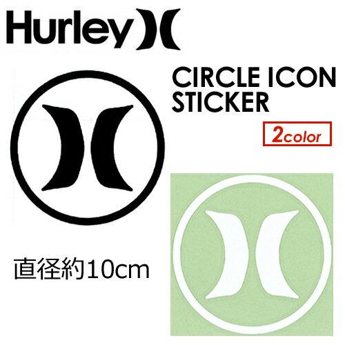 〔あす楽対応〕Hurley,ハーレー,ステッカー●CIRCLE ICON STICKER HACRCLIC