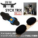 〔あす楽対応〕【送料無料】バランスボード,サーフィン,スケートボード,トリック,クリス・ワード●SYCK TRIX シックト…