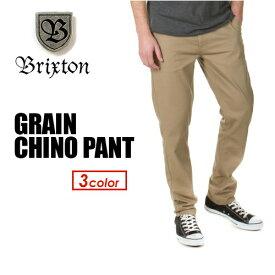 〔あす楽対応〕BRIXTON ブリクストン ボトム パンツ チノ●GRAIN CHINO PANT