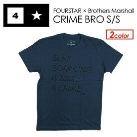 〔あす楽対応〕FOURSTAR,フォースター,Tシャツ,半袖,sale●CRIME BRO S/S TEE