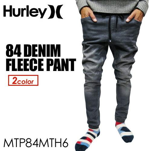 〔あす楽対応〕【送料無料】Hurley,ハーレー,ジーンズ,デニム,イージーパンツ,ジョガーパンツ,16ho●84 DENIM FLEECE PANT MTP84MTH6