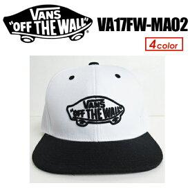 あす楽 VANS バンズ CAP オフザウォール ロゴ キャップ,sale●SK8OTW SIX PANELS CAP VA17FW-MA02